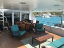 Broward-Custom Extended 1990-MON SHERI Fort Lauderdale-Florida-United States-Aft Deck Seating-1515072 | Thumbnail