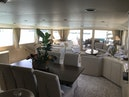 Broward-Custom Extended 1990-MON SHERI Fort Lauderdale-Florida-United States-Dining area looking to starboard-1515025 | Thumbnail