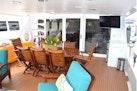 Broward-Custom Extended 1990-MON SHERI Fort Lauderdale-Florida-United States-Aft Deck Seating-1515073 | Thumbnail