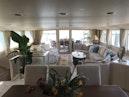 Broward-Custom Extended 1990-MON SHERI Fort Lauderdale-Florida-United States-Dining area looking aft-1515024 | Thumbnail