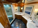 Cheoy Lee-103 Cockpit Sky Lounge 2011-Blue Steele Cabo San Lucas-Mexico-2011 Cheoy Lee 103 103 Cockpit Motor Yacht  Blue Steele  Fwd Master Stateroom Head-1558787 | Thumbnail