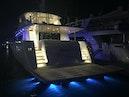 Johnson-Flybridge w/Hydraulic Platform 2022-JOHNSON 93 OPEN FB Taiwan-Stern at night-1559111 | Thumbnail