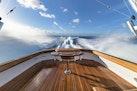 Winter Custom Yachts-46 Walkaround 2019-Family Circus Stuart-Florida-United States-Cockpit Wake View-1563785 | Thumbnail