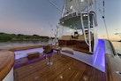 Winter Custom Yachts-46 Walkaround 2019-Family Circus Stuart-Florida-United States-Cockpit with Night Lighting and Side Deck Lighting-1563782 | Thumbnail