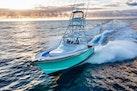 Winter Custom Yachts-46 Walkaround 2019-Family Circus Stuart-Florida-United States-Port Bow Running-1563726 | Thumbnail