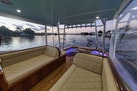 Winter Custom Yachts-46 Walkaround 2019-Family Circus Stuart-Florida-United States-Diamond Stitched Ultra-Leather Upholstery and Storage Below-1563762 | Thumbnail