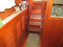 Monk-36 Trawler, Replaced Fuel Tanks 2003-One Fine Day New Bern-North Carolina-United States-Master Entry To Salon-1569153 | Thumbnail