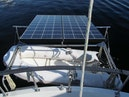Monk-36 Trawler, Replaced Fuel Tanks 2003-One Fine Day New Bern-North Carolina-United States-Davits And Solar-1569191 | Thumbnail