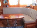 Monk-36 Trawler, Replaced Fuel Tanks 2003-One Fine Day New Bern-North Carolina-United States-Salon Settee And Table-1569148 | Thumbnail