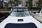 Sea Ray-460 Sundancer 2002-The Payoff Key Biscayne-Florida-United States-Helm View from Mid Bow-1569327 | Thumbnail