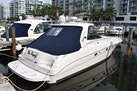 Sea Ray-460 Sundancer 2002-The Payoff Key Biscayne-Florida-United States-STBD Side View from Dock-1569353 | Thumbnail
