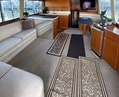 Ocean Yachts-Super Sport 1998-MJs Cape May-New Jersey-United States-Main Salon with Large L-Shaped Settee-1586479 | Thumbnail