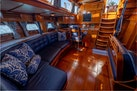 Little Harbor 1984-HERMIE LOUISE Portsmouth-Rhode Island-United States-Saloon Looking Aft-1592536 | Thumbnail