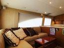 Ocean Yachts-Super Sport 2005-Missin The Buck Daytona Beach-Florida-United States-Salon L-Shaped Sofa Port With Rod Storage-1599515 | Thumbnail