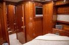 Hampton-60 Motor Yacht 2007-Family Biz Mount Pleasant-North Carolina-United States-Gloss Cherrywood finish and Sharp TV-1600070 | Thumbnail