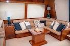 Hampton-60 Motor Yacht 2007-Family Biz Mount Pleasant-North Carolina-United States-Settee to starboard-1600050 | Thumbnail