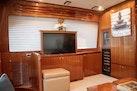 Hampton-60 Motor Yacht 2007-Family Biz Mount Pleasant-North Carolina-United States-Sharp TV on electric lift-1600046 | Thumbnail
