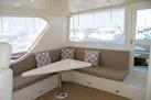Hampton-60 Motor Yacht 2007-Family Biz Mount Pleasant-North Carolina-United States-L-Seating, Triangular Hi-Lo Table-1600109 | Thumbnail