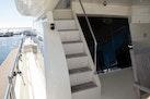 Hampton-60 Motor Yacht 2007-Family Biz Mount Pleasant-North Carolina-United States-Stairway and SS Sliding Door to Salon-1600116 | Thumbnail