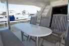 Hampton-60 Motor Yacht 2007-Family Biz Mount Pleasant-North Carolina-United States-Aft Deck  Teak Chairs & Corian Table Top-1600120 | Thumbnail