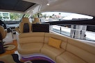 Pershing-62 2007-CHOPIN Pompano Beach-Florida-United States-Salon Seating Behind Helm With POP Up TV Up-1625709   Thumbnail