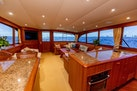 Merritt-Sportfish 2004-WATASHEE Pomoano Beach-Florida-United States-Salon Looking aft -1622641   Thumbnail