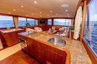 Merritt-Sportfish 2004-WATASHEE Pomoano Beach-Florida-United States-Salon Looking aft from Galley-1622640   Thumbnail