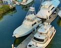 Hatteras-Convertible Sportfish 1985-ZARAY Fort Pierce-Florida-United States-Overhead Port-1623860   Thumbnail