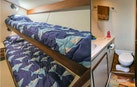 Hatteras-Convertible Sportfish 1985-ZARAY Fort Pierce-Florida-United States-Portside Bunk Stateroom And En Suite Head-1623848   Thumbnail