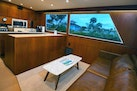 Hatteras-Convertible Sportfish 1985-ZARAY Fort Pierce-Florida-United States-Salon and Galley To Starboard-1623839   Thumbnail