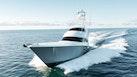 Viking-80 Convertible 2018-HUMDINGER Cape Cod-Massachusetts-United States-Port Bow Profile-1641457 | Thumbnail