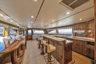 Viking-80 Convertible 2018-HUMDINGER Cape Cod-Massachusetts-United States-Dinette and Galley lookinhg aft-1641481 | Thumbnail