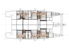Sunreef-Sunreef 70 2020-OCEAN VIBES Fort Lauderdale-Florida-United States-Lower Deck Layout-1652642 | Thumbnail