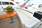 Horizon-65 Skylounge 2002-Alls Well Miami Beach-Florida-United States-Main Aft Deck with Generous Seating and Beautiful Teak Dining Table-1668782 | Thumbnail