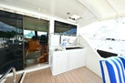 Horizon-65 Skylounge 2002-Alls Well Miami Beach-Florida-United States-Flybridge Forward View with Wet Bar and Dual Electric Grilles-1668780 | Thumbnail