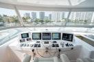 Hatteras-Motor Yacht 2015-DADDY Aventura-Florida-United States-Flybridge Helm-1671267   Thumbnail