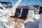 Bayliner-4788 Pilothouse 1998-J&B Mount Pleasant-South Carolina-United States-Teak Steamer Chairs with Custom Sunbrella Cushions (2020)-1675830 | Thumbnail