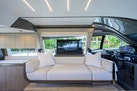 Ferretti Yachts-550 2021-COCO Fort Lauderdale-Florida-United States Salon With Tv-1692486 | Thumbnail
