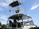 Hatteras-55 Convertible 1981-Ms Micki Fort Myers-Florida-United States-Flybridge and Tower-1709728   Thumbnail