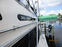 Hatteras-55 Convertible 1981-Ms Micki Fort Myers-Florida-United States-Port Side Deck Aft and Outrigger-1709726   Thumbnail