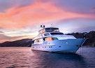 Hargrave-Custom Raised Pilothouse 2010-CynderElla Annapolis-Maryland-United States-Starboard Bow At Sunset-1750155   Thumbnail