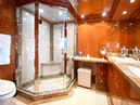 Hargrave-Custom Raised Pilothouse 2010-CynderElla Annapolis-Maryland-United States-On Deck Master Stateroom Shower and Head-1750149   Thumbnail