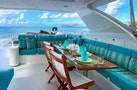 Hargrave-Custom Raised Pilothouse 2010-CynderElla Annapolis-Maryland-United States-Flybridge Seating and Dining-1750159   Thumbnail