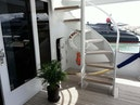 Broward-Raised Pilothouse MY 2001-True North Casa del Campo-Dominican Republic-Stairs to Flybridge-913669 | Thumbnail