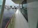 Hatteras-Motor Yacht 1989-Windfall Stuart-Florida-United States-Port Side Deck Fwd-910370 | Thumbnail